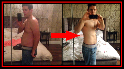 Before and after fitness bootcamp