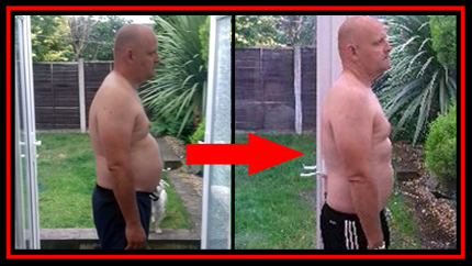 Dave Before and After Boot Camp